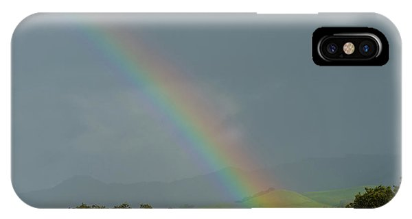 Rainbow On Valhalla Dr. IPhone Case