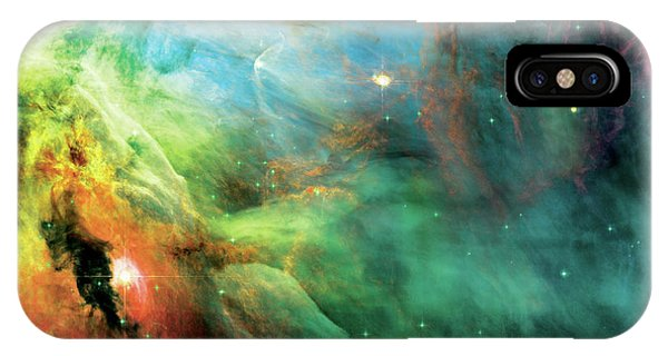 Rainbow Orion Nebula IPhone Case