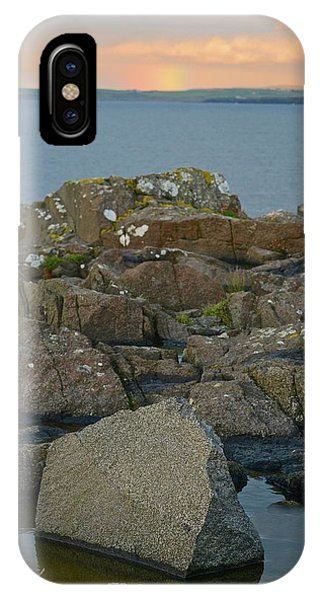 Rainbow Over The Rocks IPhone Case