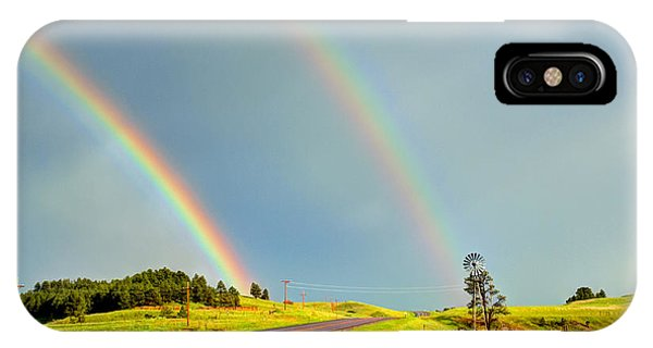 Rainbow Pass IPhone Case