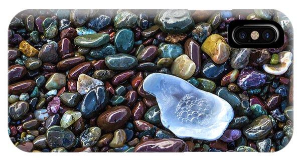 Rainbow Pebbles IPhone Case
