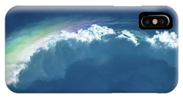 Rainbow Peeking IPhone Case