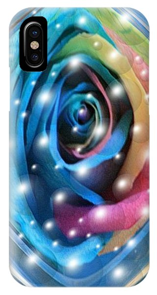 Rose Planet IPhone Case
