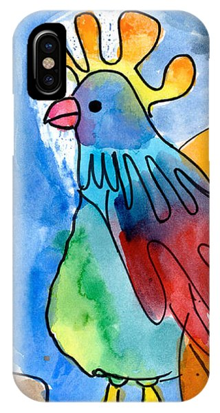 Rainbow Rooster IPhone Case