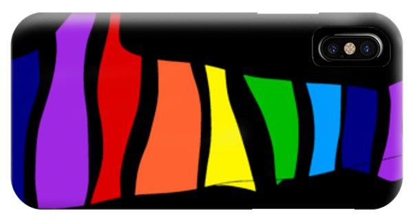 Rainbow Shark IPhone Case