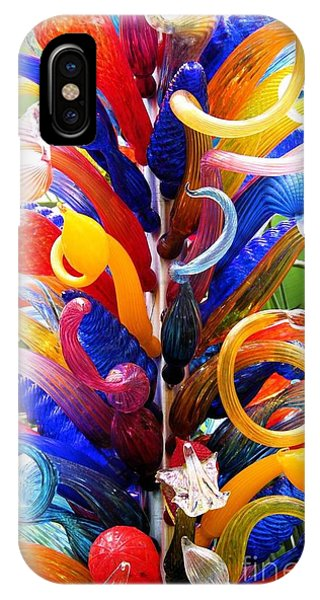 Rainbow Spirals IPhone Case