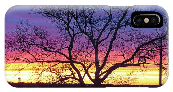 IPhone Case featuring the photograph Rainbow Sunset by Robert Henne