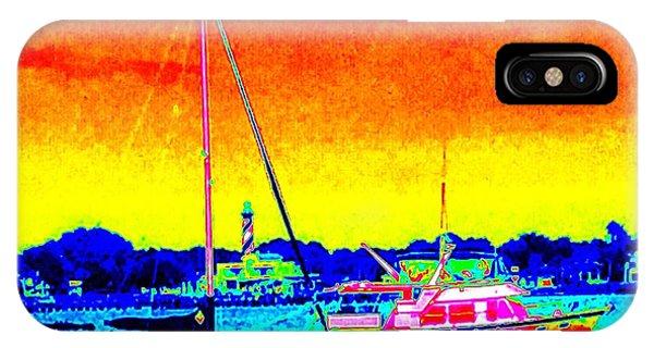 Rainbow Tide IPhone Case
