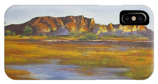 Rainbow Valley Northern Territory Australia IPhone Case