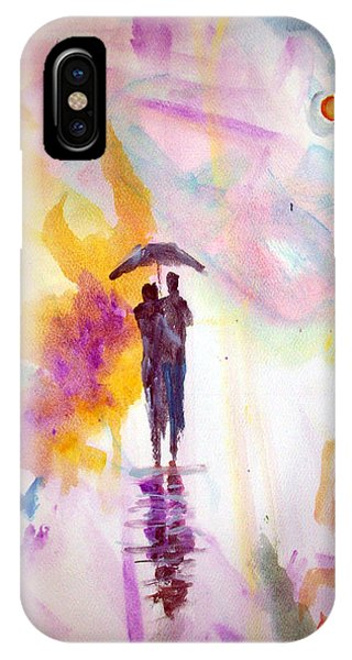 Rainbow Walk Of Love IPhone Case