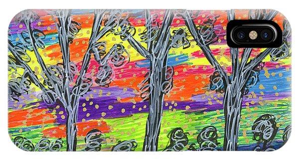 Rainbow Woods IPhone Case