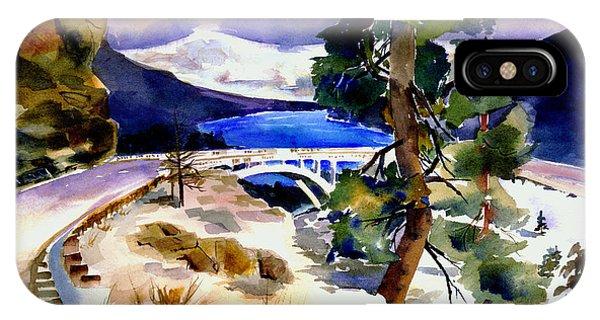 Rainbowbridge Above Donner Lake IPhone Case