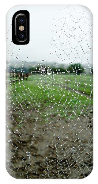 Raincatcher Web IPhone Case