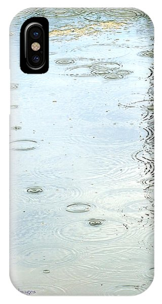 Raindrop Abstract IPhone Case
