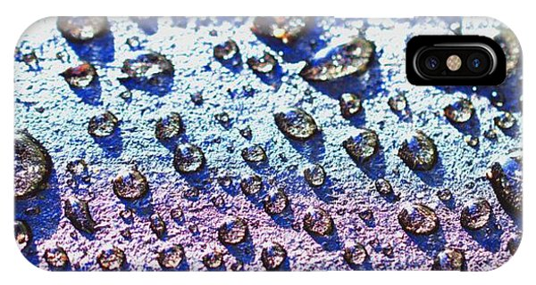 Raindrop Shingle IPhone Case