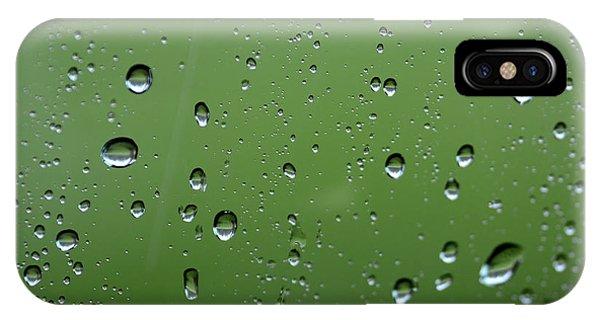 Raindrops  2 IPhone Case