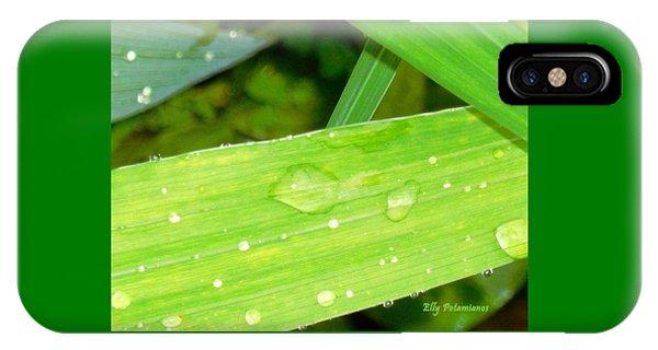 Raindrops IPhone Case