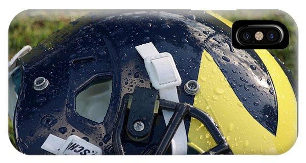 Raindrops On Wolverine Hellmet IPhone Case