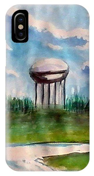 Raines Road Watertower IPhone Case