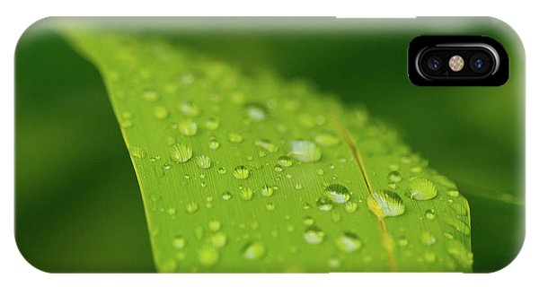 IPhone Case featuring the photograph Rainfall by SR Green