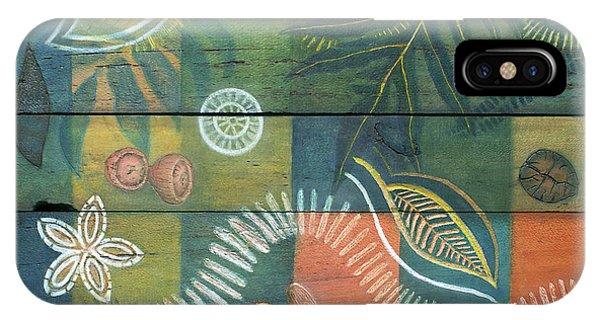 Far North Queensland iPhone Case - Rainforest Regeneration  by Kerryn Madsen-Pietsch