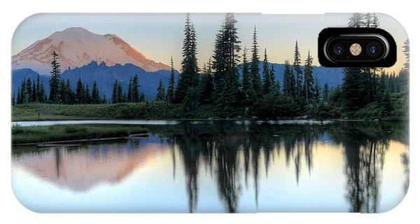 Rainier From Tipsoo IPhone Case