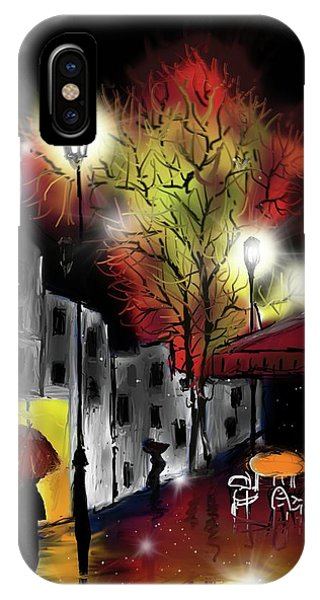 Raining And Color IPhone Case