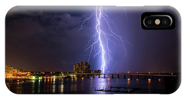 Raining Bolts IPhone Case