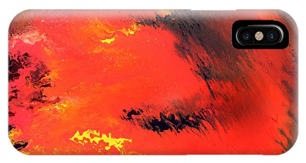 Raining Fire IPhone Case