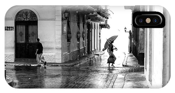 Rainy Day In Casco Viejo IPhone Case