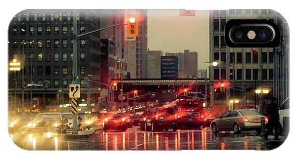 Rainy Day In Ottawa IPhone Case