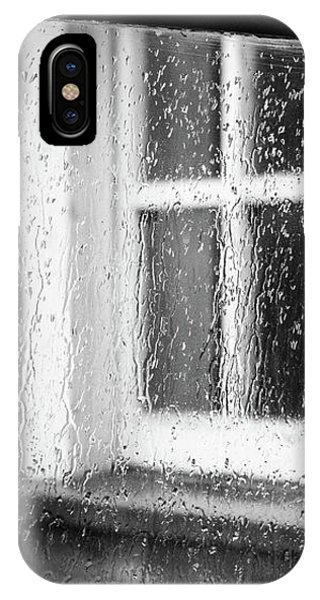 Rainy Day Window IPhone Case