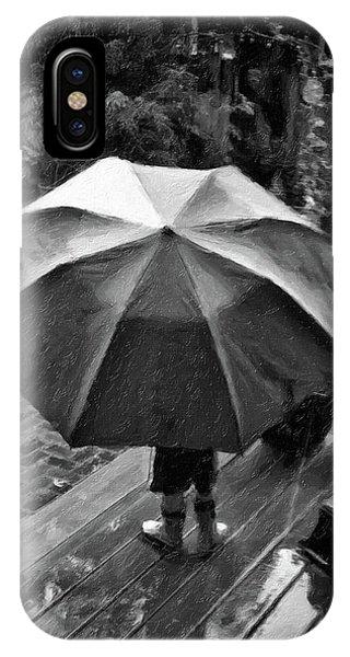 Rainy Day Phone Case by Winnie Chrzanowski
