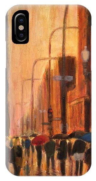 Rainy Evening Chicago IPhone Case