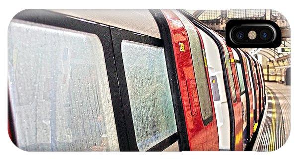 Rainy London Day IPhone Case