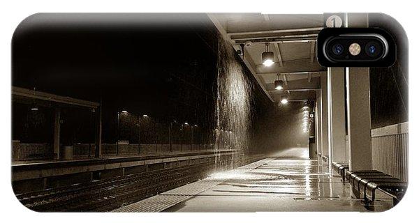 Rainy Night In Baltimore IPhone Case