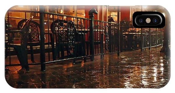 Rainy Night In Gainesville IPhone Case