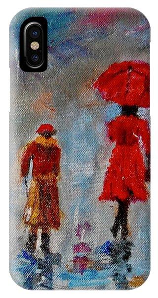 Rainy Spring Day IPhone Case