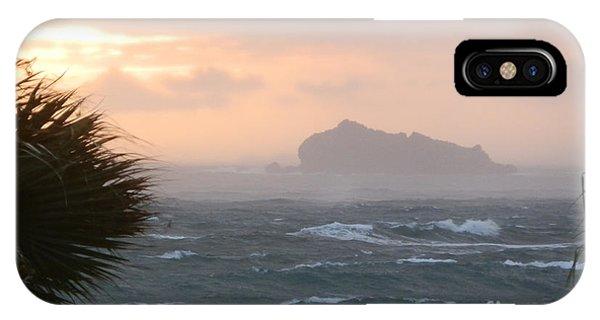 Rainy Xmas Sunrise IPhone Case
