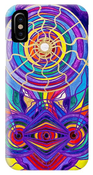 Swan iPhone X Case - Raise Your Vibration by Teal Eye Print Store