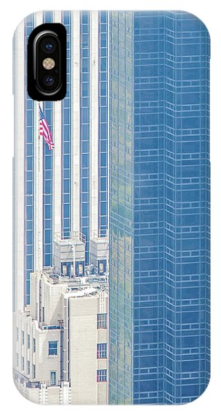 Architectural iPhone Case - Raising The Flag by Az Jackson