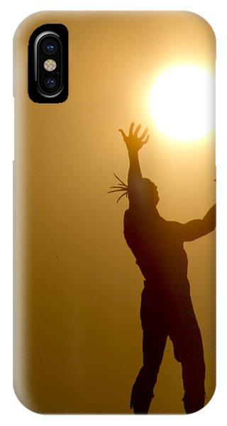 Raising The Sun IPhone Case