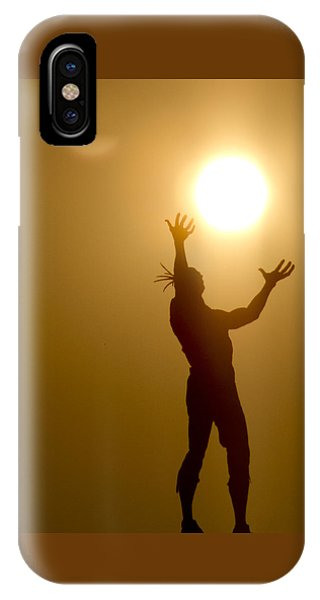 Raising The Sun IPhone Case