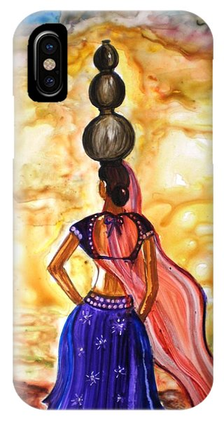 Rajasthani Lady-allure IPhone Case