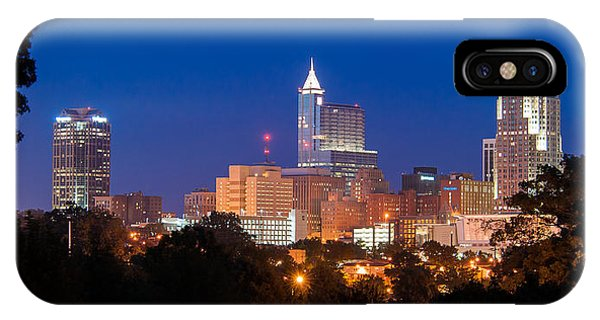 Raleigh Skyline IPhone Case