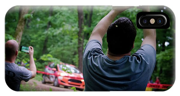 Rally Fan Capture IPhone Case