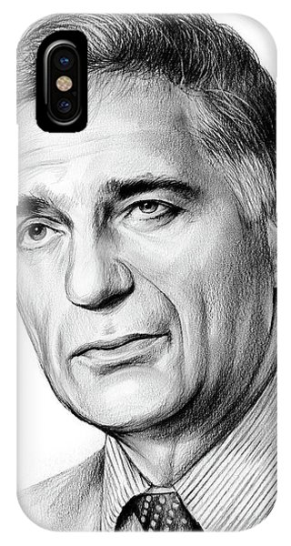 Political iPhone Case - Ralph Nader by Greg Joens