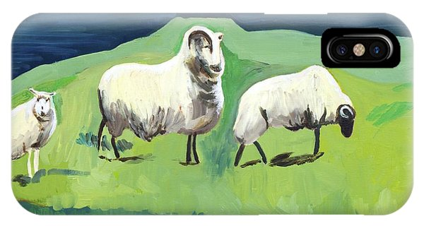 Ram On A Hill IPhone Case