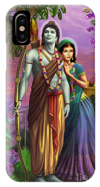 Rama And Sita  IPhone Case