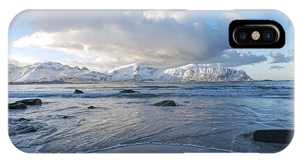 Ramberg Beach, Lofoten Nordland IPhone Case